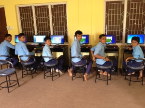New computers in the Nepalese school