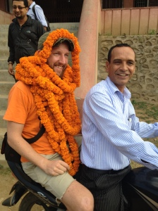 Mr. Bolland - a Project Nepal team member and also a Global Mentor