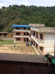 Manoj's old school in Nepal
