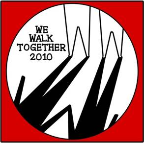We Walk Together logo 2010