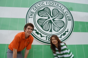Conor with Pun at the Thai Tims