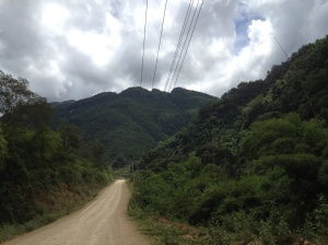 The mountain along Seuang River where Chipseng was born