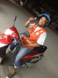 Tan the motorbike taxi driver
