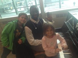 Patrick and a piano