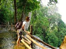 Trekking in the north of Thailand