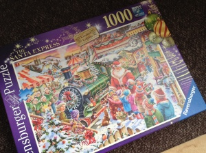 1000 piece festive jigsaw - who would do that?