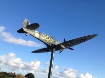 The Lytham St. Annes spitfire