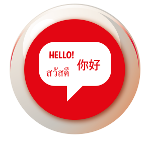 Speaking more than one language